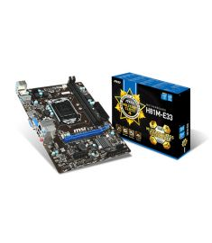 MSI H81M-E33 4th Gen DDR3  MOTHERBOARD