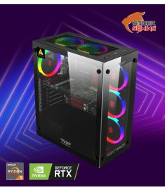 SABER - Devastator Ryzen 5  RTX 3070 G1 Gaming Desktop PC