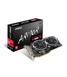 MSI Radeon RX 480 ARMOR 8G OC DDR5 GRAPHICS CARD
