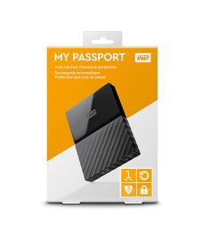 WD 1TB MY PASSPORT  EXTERNAL HARD DISK