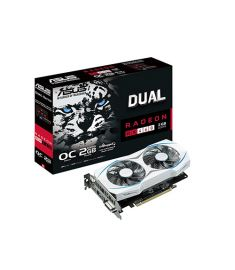 ASUS DUAL RX460 O2G OC 2GB DDR5 GRAPHIC CARD