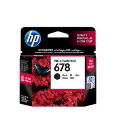 HP 678 (CZ107AA) BLACK CARTRIDGE