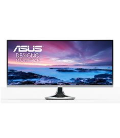 "ASUS  MX34VQ Designo Curved 34"" Frameless Monitor"