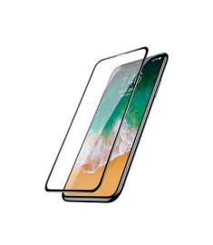 Baseus 0.23mm Anti-break edge All-screen Arc-surface Tempered Glass Film  For iPhone X Black - SGAPIPHX-KA01