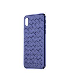 Baseus BV Weaving Case for iPhone X-Blue
