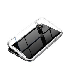 Baseus Magnetite Hardware Case for iPhone X-Silver
