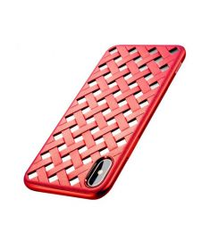 Baseus paper-cut Case for IPhone X -Red