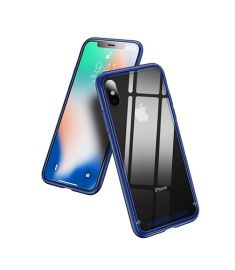 Baseus See-through glass protective case For iPhone X