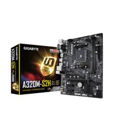 Gigabyte A320M-S2H Micro ATX AM4 Motherboard
