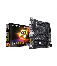 Gigabyte B450M DS3H Micro ATX AM4 Motherboard