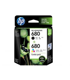 HP 680 Color/Black Combo 2-Pack Ink Cartridge