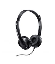 Rapoo H100  Wired Stereo headset black
