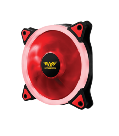 Armaggeddon Scarlet Dual Saber 120mm LED PC Cooling Fan