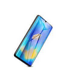 Baseus 0.3mm All-screen Arc-surface Anti-bluelight Tempered Glass Film For For HUAWEI Mate20 Black