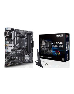 ASUS Prime B550M-A WiFi  AM4 microATX AMD Motherboard