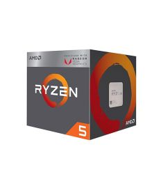 AMD Ryzen 5 2400G with Radeon  RX Vega 11 Graphics Processor