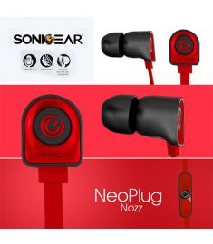 SONICGEAR NEOPLUG NOZZ IN THE ERA HEADPHONES