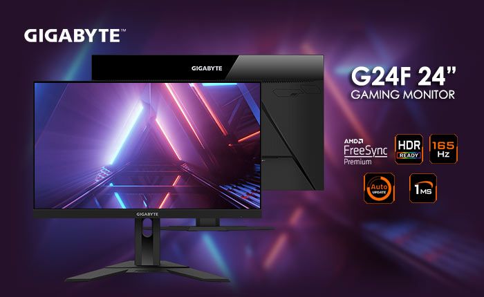 Gigabyte G24F Gaming Monitor with Super Speed IPS 165Hz 1ms review