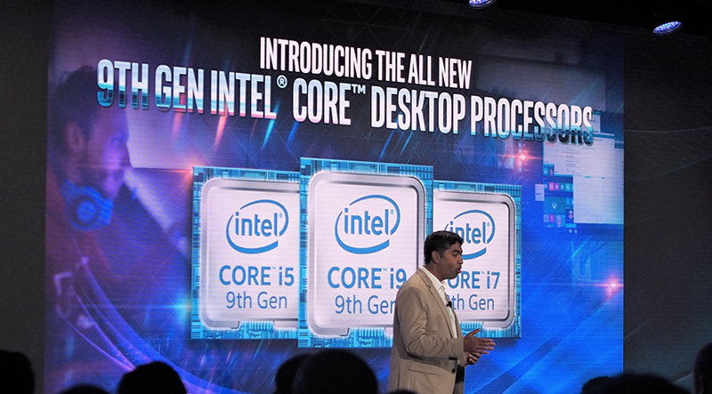 Intel 9th gen processors announced